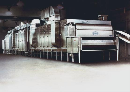 Multi Stage Conveyor Dryer Cooler Cpm Wolverine Proctor